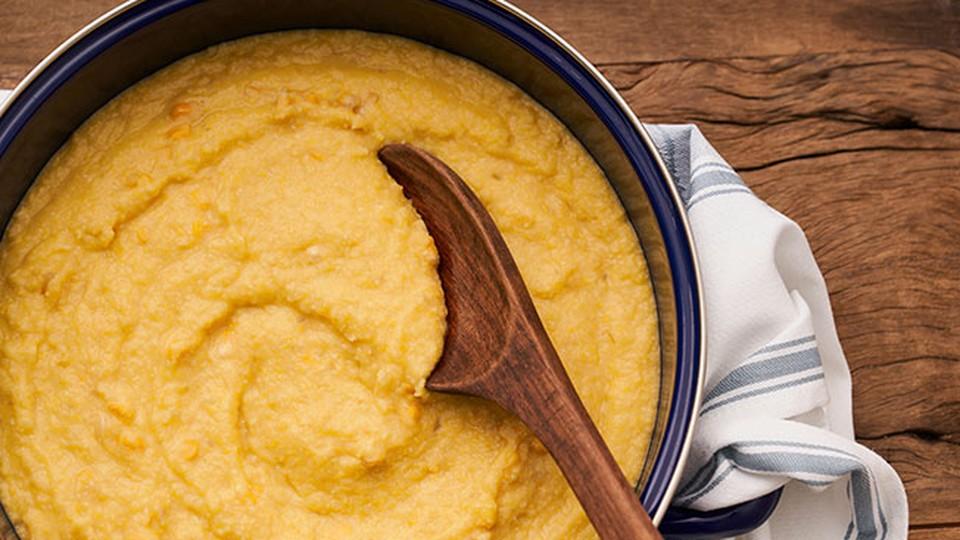 Viradinho cremoso de milho que vai realçar seus pratos