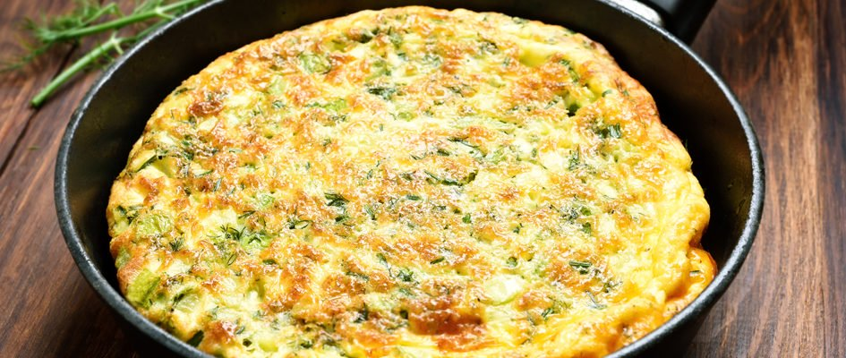 Aprenda a fazer um omelete de fazenda