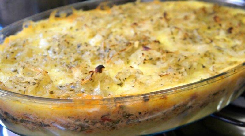 Bacalhau cremoso com purê de batatas fica sensacional