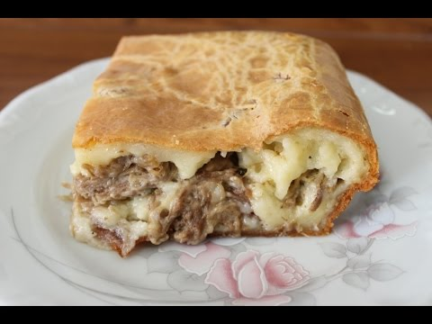 Bolo pão de queijo recheado