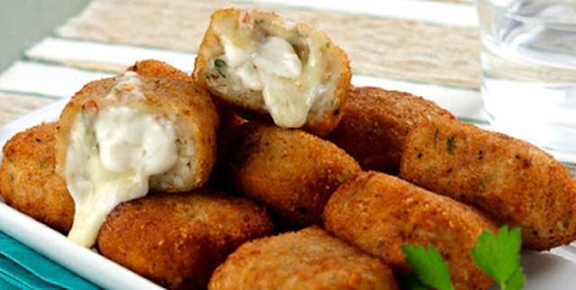 Como fazer nuggets de frango com requeijão