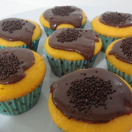 Cupcakes caseiros de cenoura fáceis de fazer
