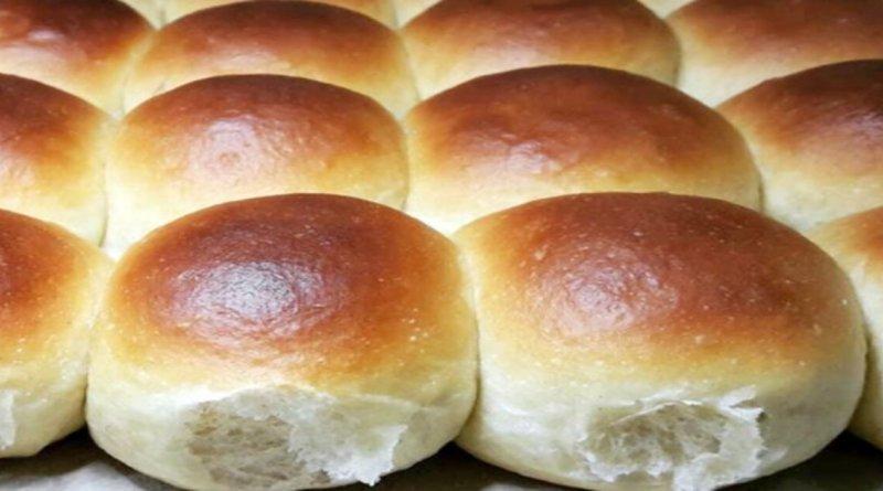 Pão doce de liquidificador fofinho e delicioso