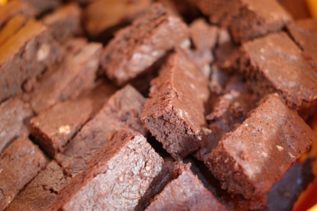 Receita de brownie de batata doce com whey protein