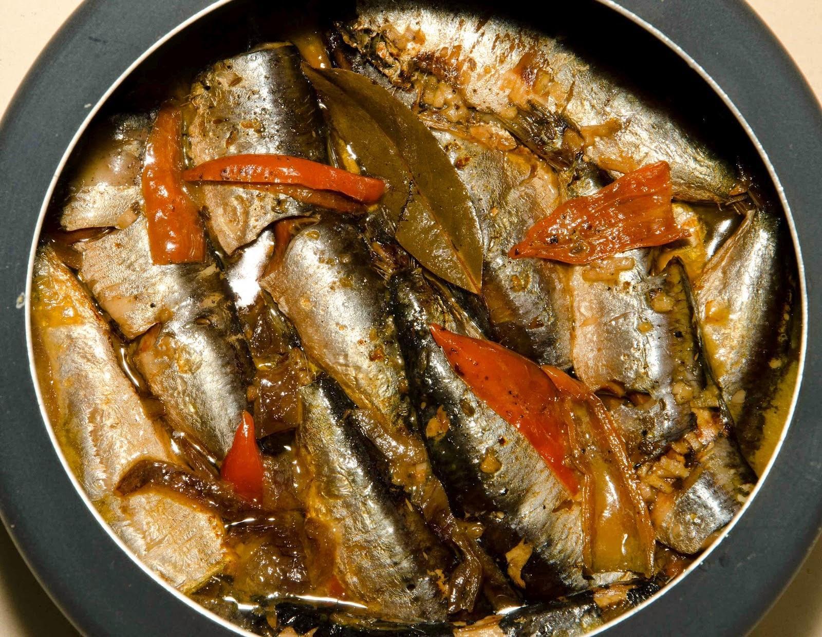 Receita de sardinha na panela de pressão