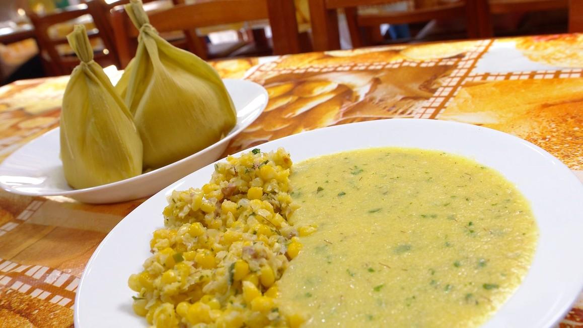 Receita de sopa de milho verde simples