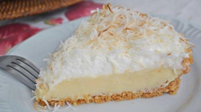 Receita de torta de coco muito fácil de fazer