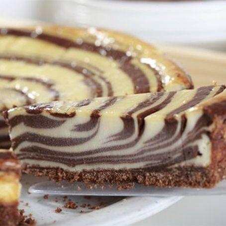 Receita de torta zebra com dois chocolates maravilhosooo