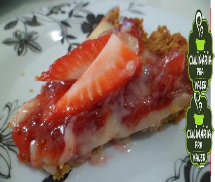 Torta cremosa de morangos o famoso 7 pecados capitais