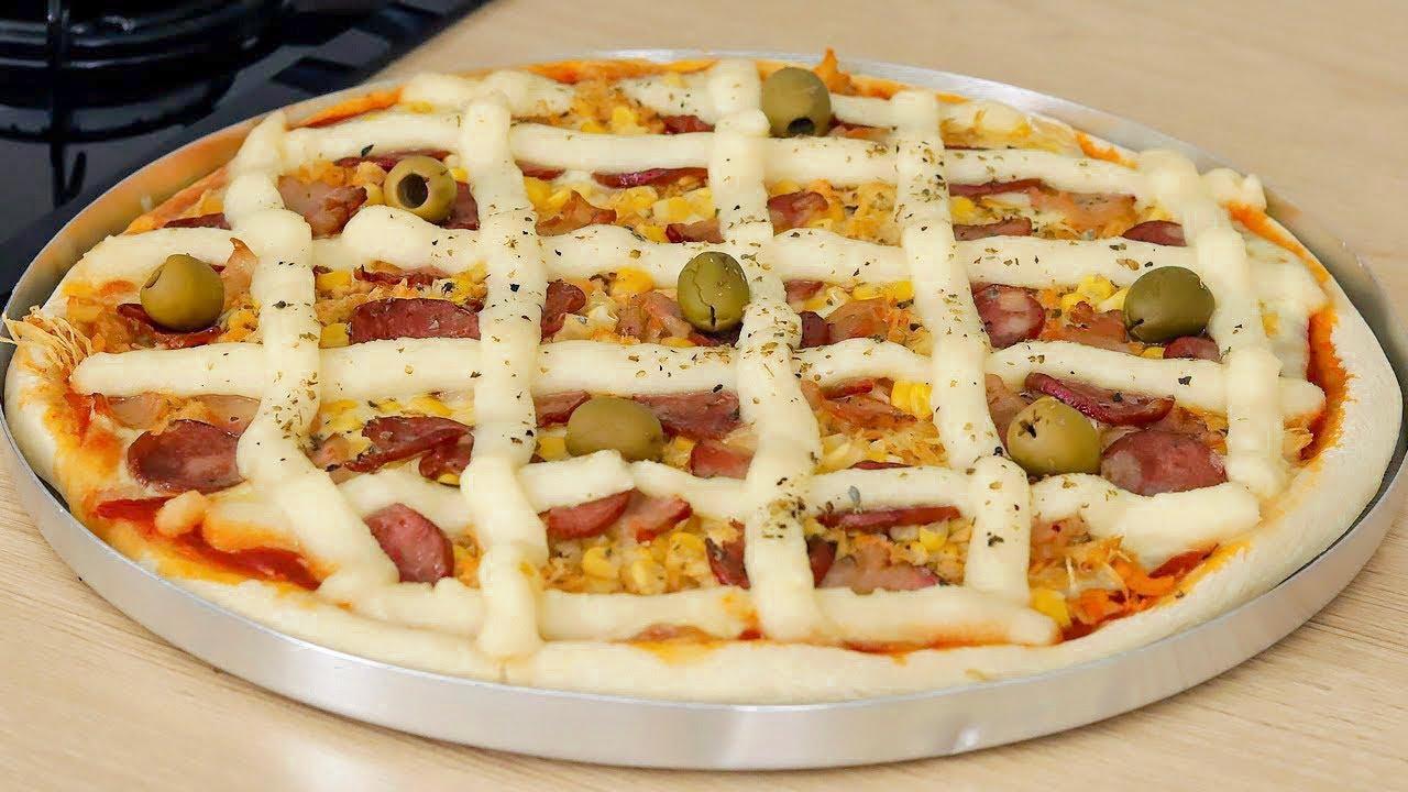 Como fazer a melhor pizza do mundo com massa profissional básica em casa