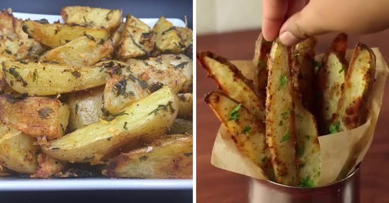 Como fazer batata assada com parmesão simples e delicioso