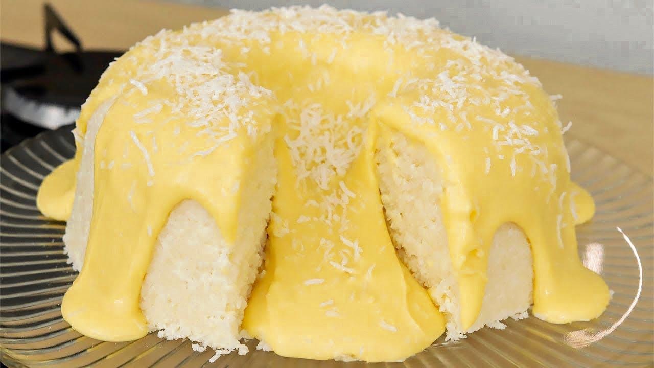 Faça esse bolo que não vai ao forno e é super fácil