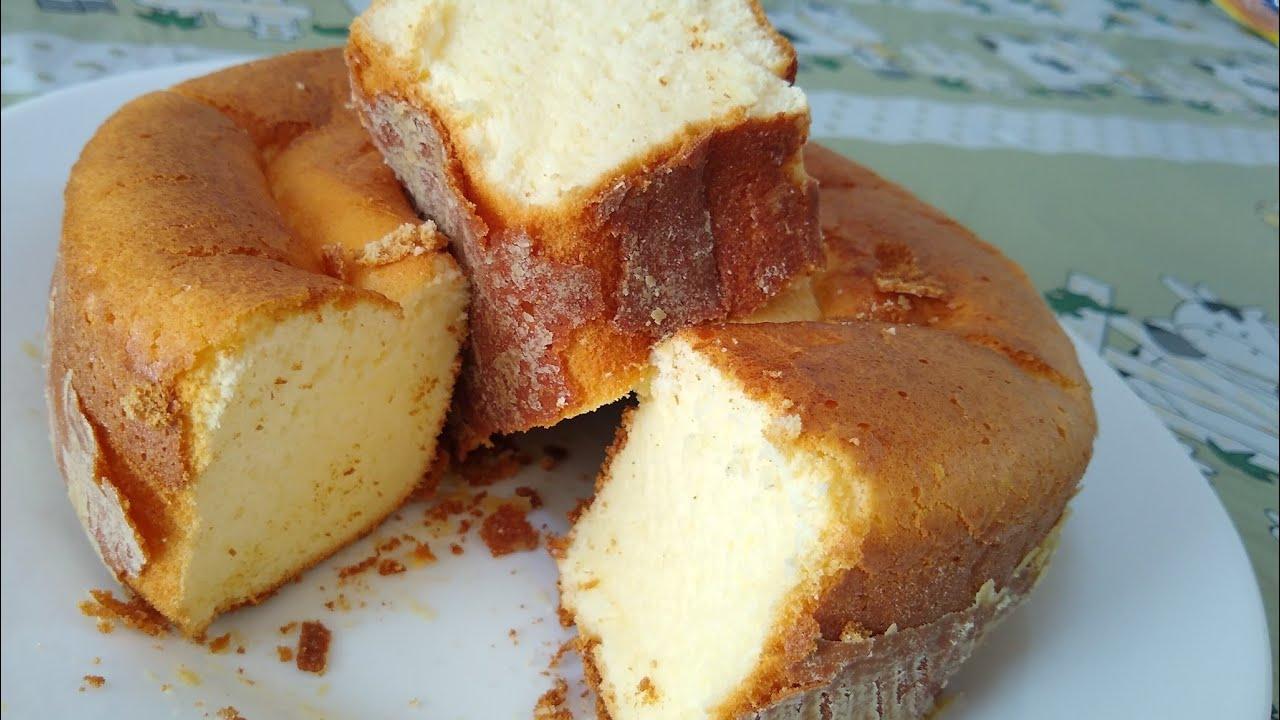 Receita de bolo de polvilho de apenas 2 ingredientes