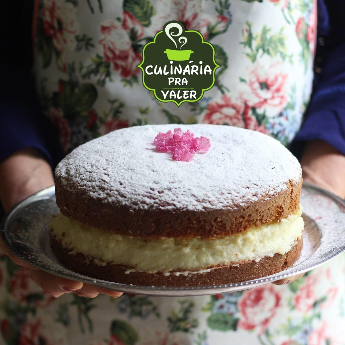 Receita de bolo de sonho caseiro irresistível