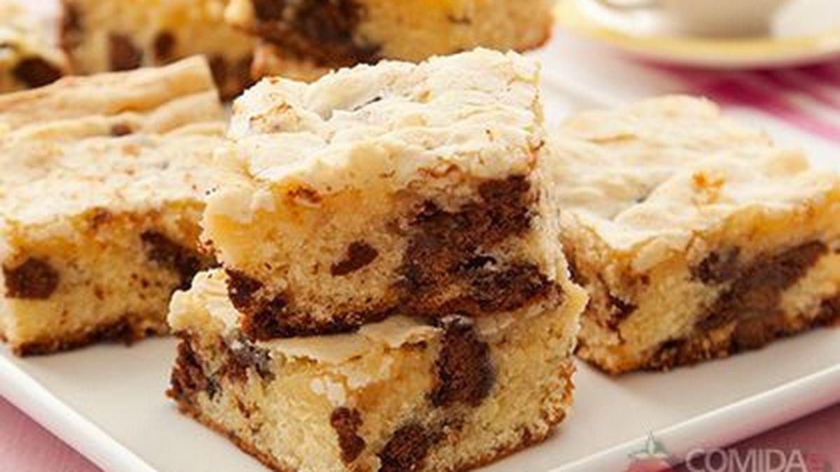 Receita de brownie de chocolate branco caseiro