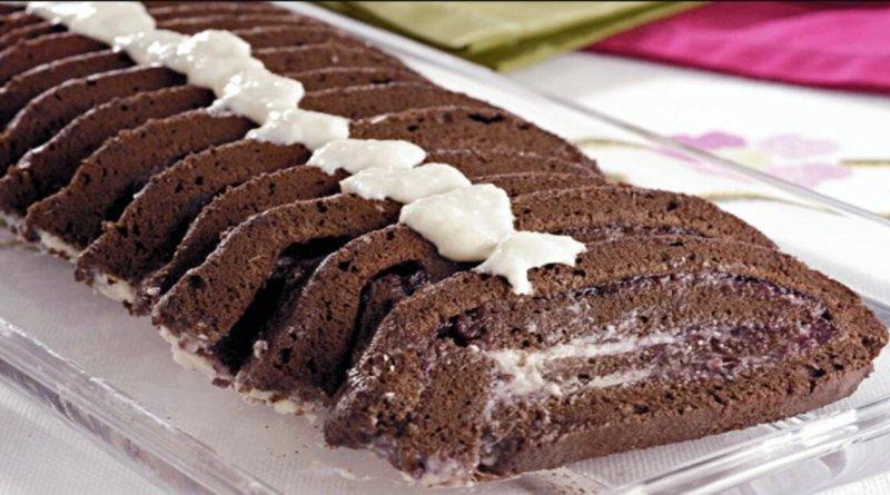 Receita de enrolado de chocolate não tem como não amar surpreendentemente delicioso