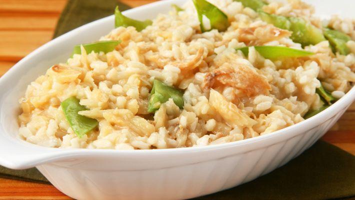Receita de risoto de bacalhau fácil