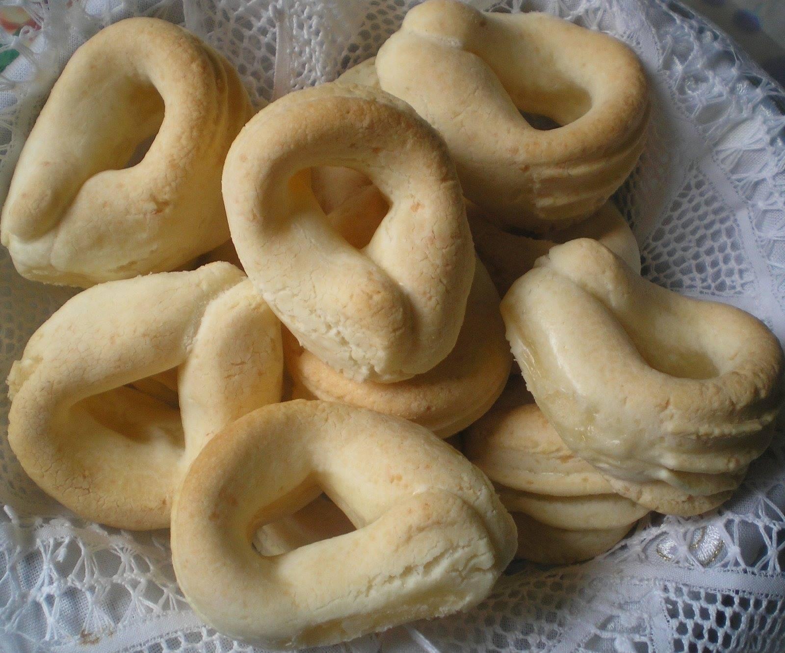 biscoitos de queijo com sabor de infância