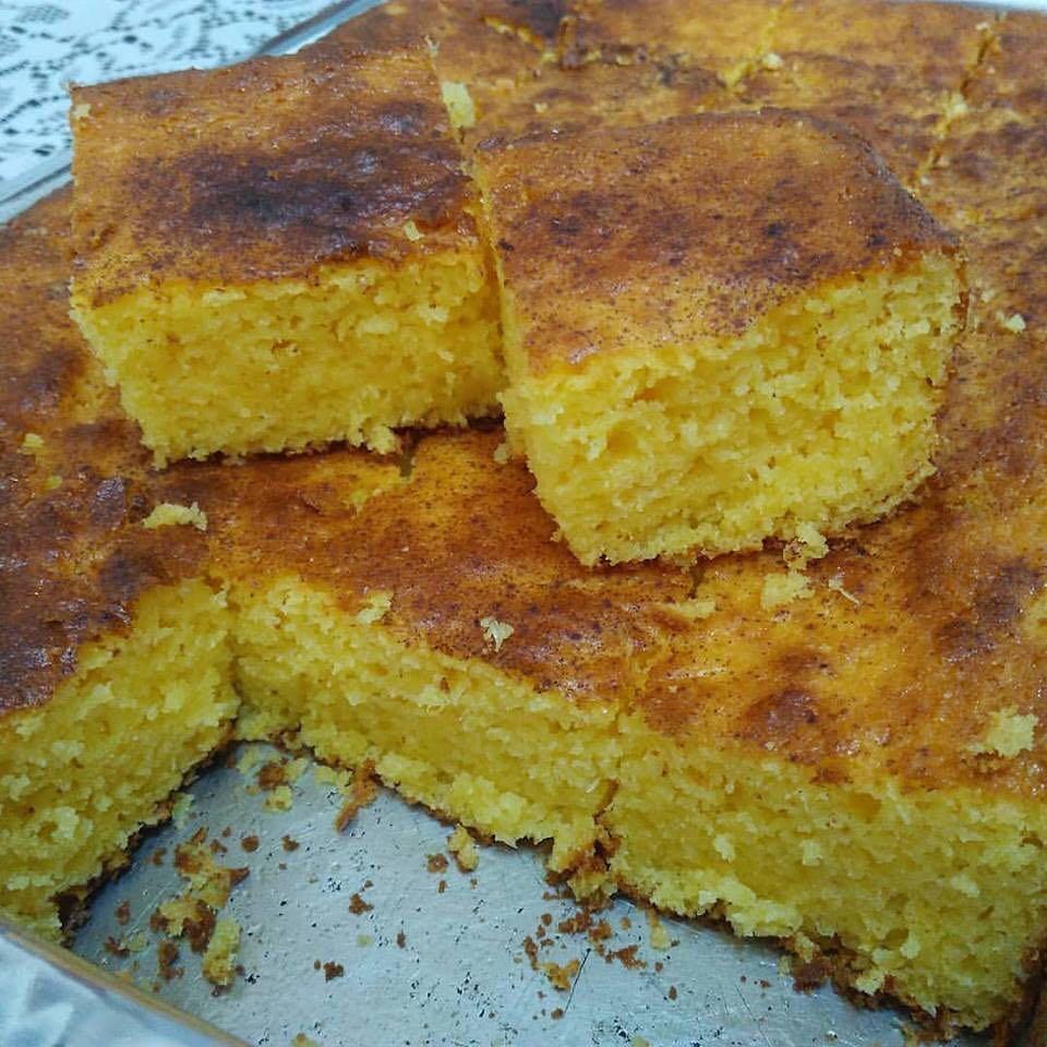 Bolo de milho delicioso e muito rápido de fazer