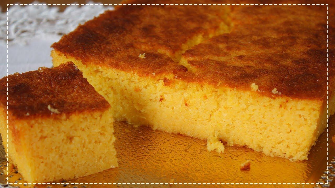Bolo de milho sem farinha de trigo muito fácil