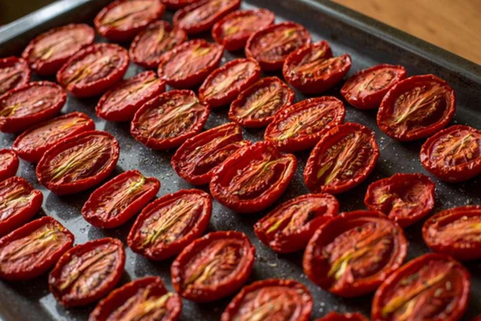 Como fazer tomate seco rápido e simples