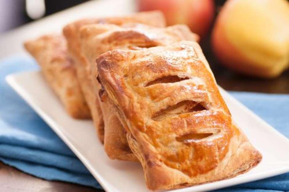 Folhado de maçã caseiro fácil e irresistível