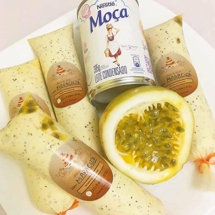 Geladinho gourmet de maracujá faça e venda hoje mesmo