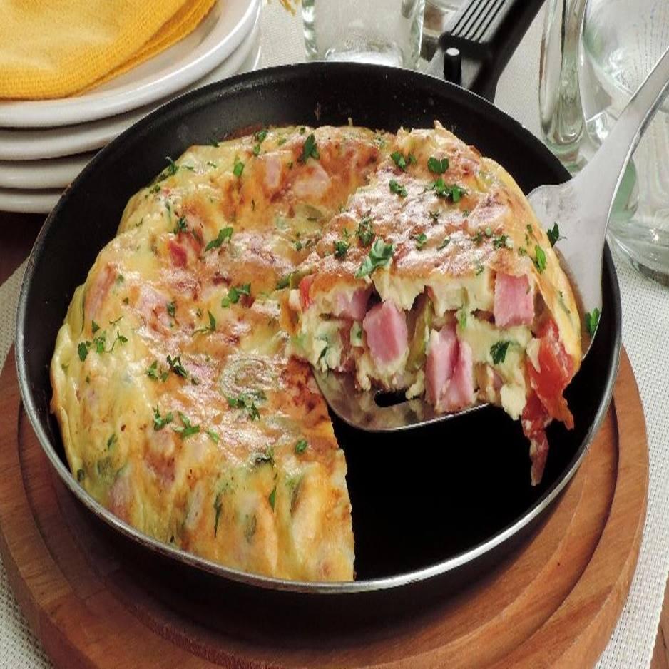 Omelete de liquidificador simples e delicioso