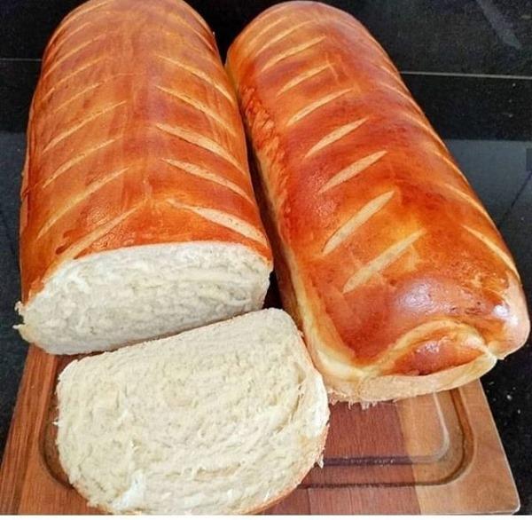 Pão amanteigado fabuloso