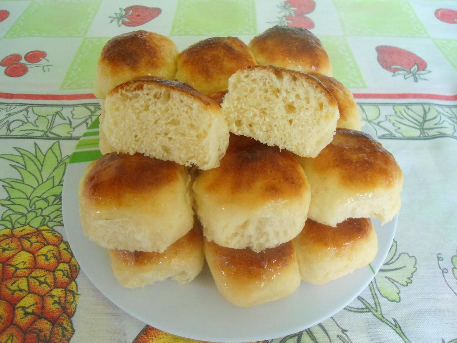 Pão de batata inglesa caseiro pratico de fazer e delicioso