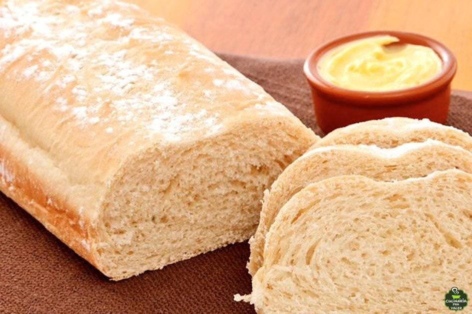 Pão de forma caseiro simples maravilhoso