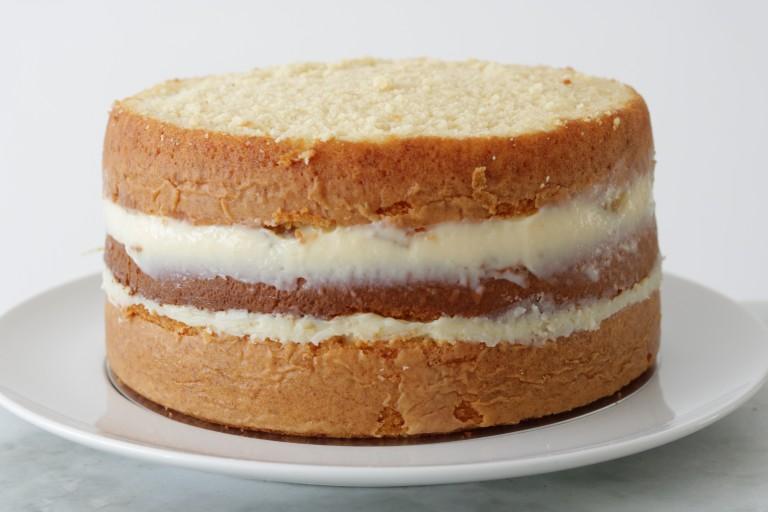 Pão de ló com massa de bolo profissional perfeito