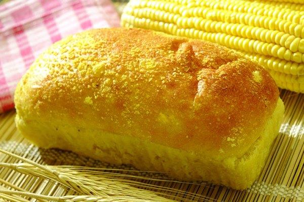 Pão de milho com queijo sem glúten