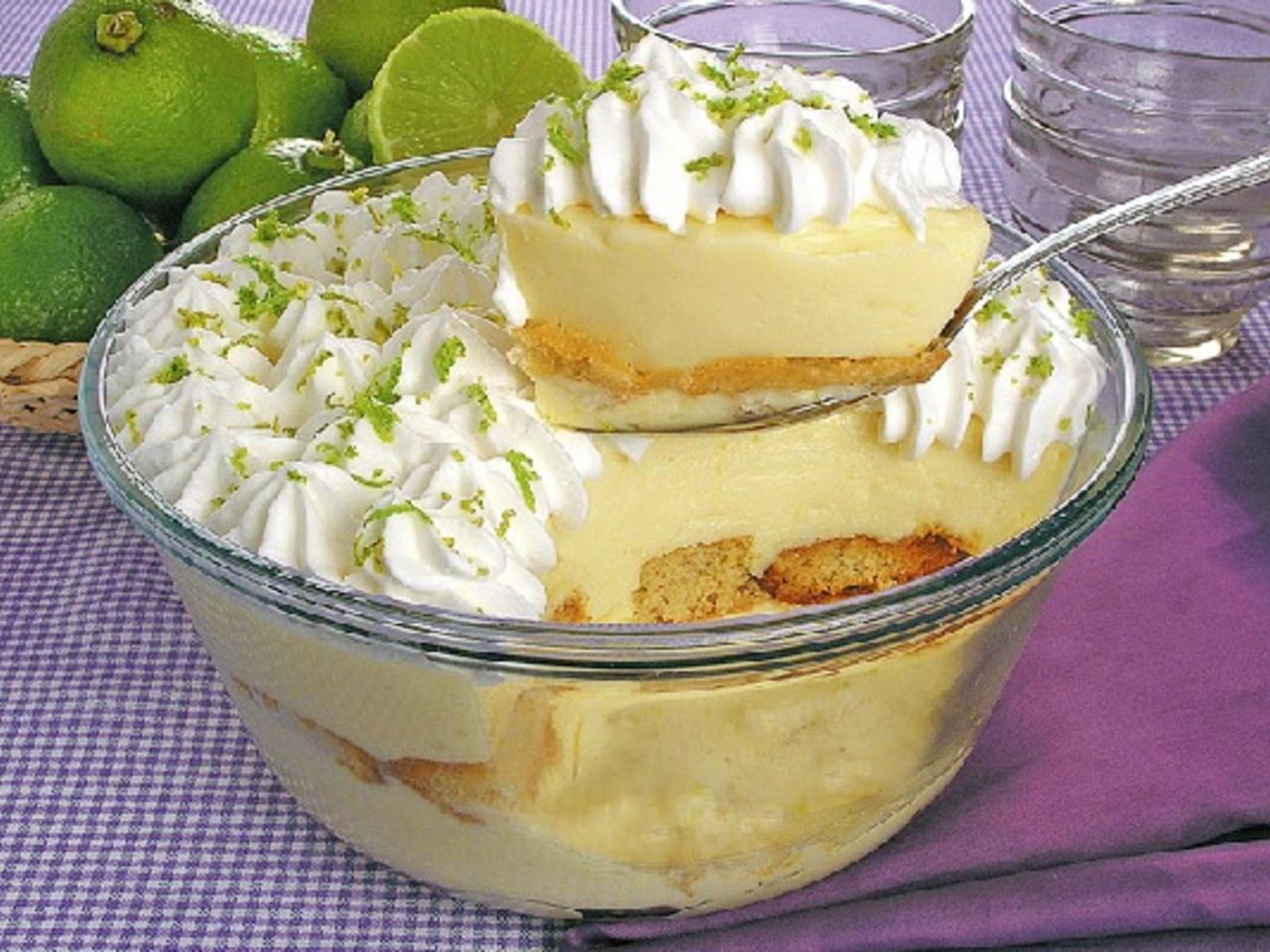 Pavê de limão uma sobremesa fácil e irresistível