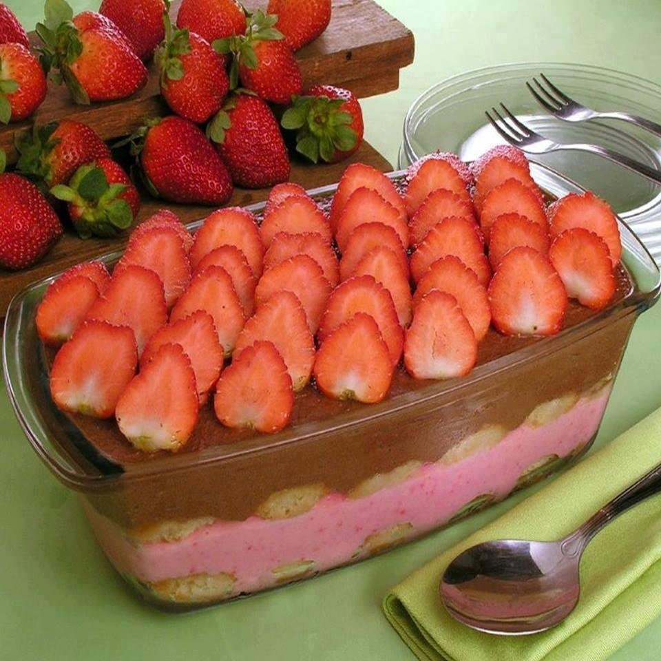 Pavê tentação uma maravilha de sobremesa