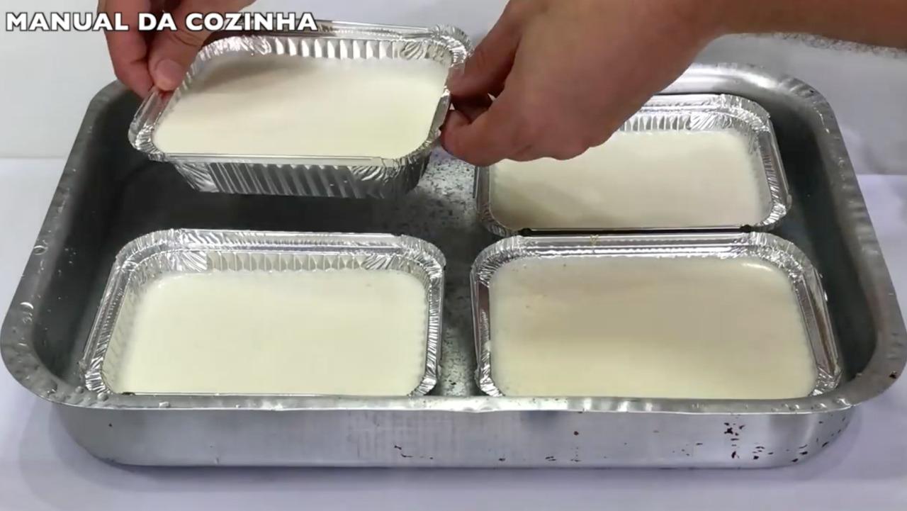 Pudim na marmita uma delicia faça e venda