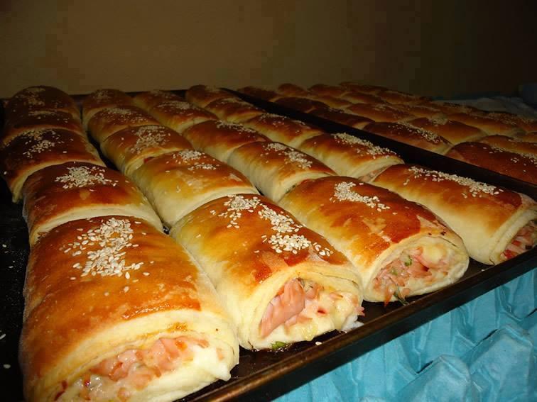 Receita base de massa para salgados assados e pães