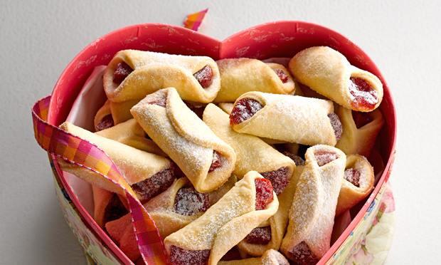 Receita de biscoito goiabinha caseiro fácil