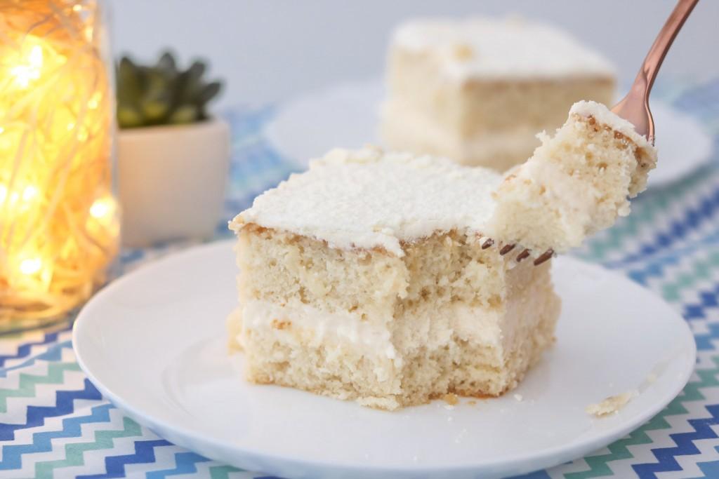 Receita de bolo de leite ninho gelado caseiro delicioso