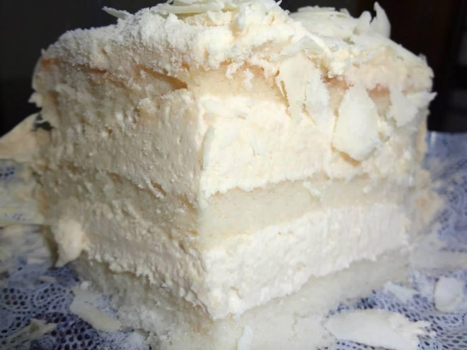 Receita de bolo mousse de leite ninho dos sonhos