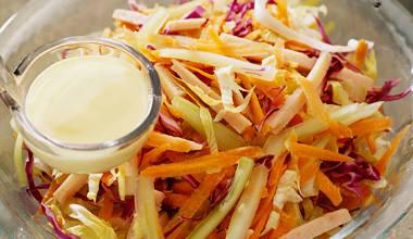 Receita de salada completa fácil