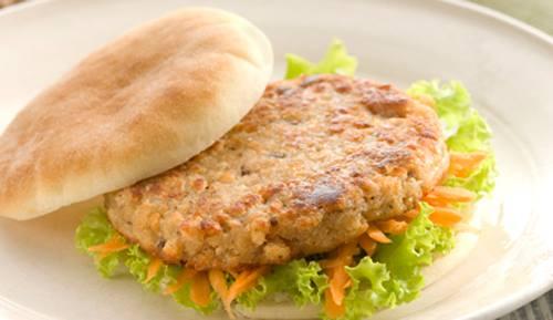 Receita deliciosa de hamburguer de soja caseiro
