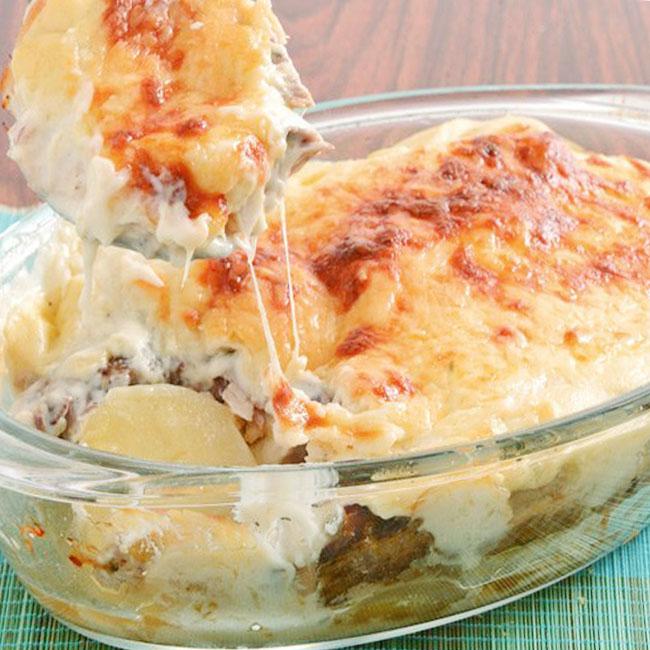 Receita maravilhosa de filé de peixe assado no forno com creme de leite para o dia das mães