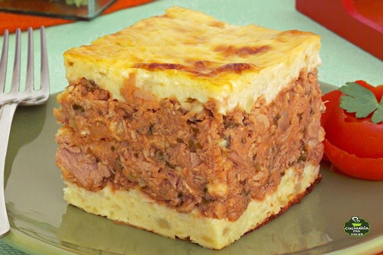 Torta de batata e atum maravilhosa