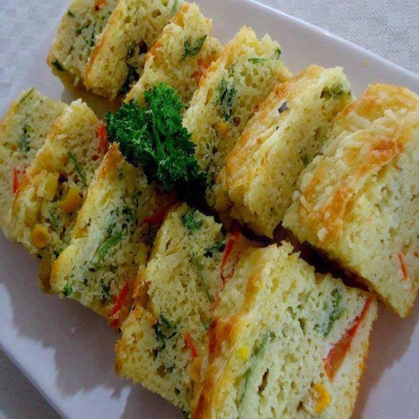 Torta de legumes especial e muito saborosa