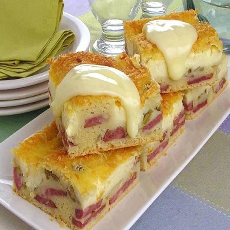 Torta fofinha de calabresa muito saborosa e irresistível