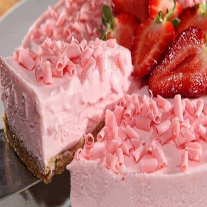 Torta rosa dos sonhos
