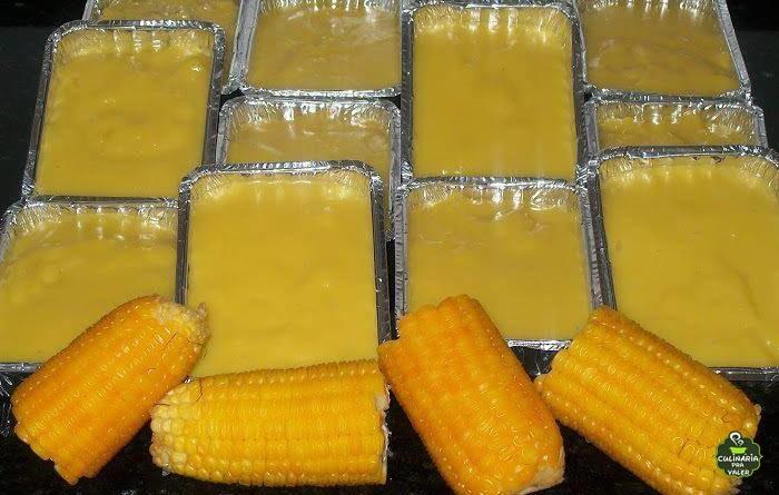 Aprenda a preparar esse delicioso curau de milho e aumente sua renda