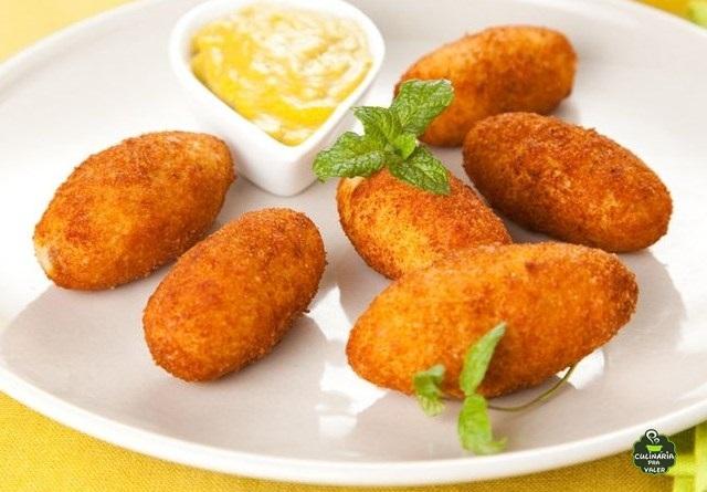 Croquete de presunto e queijo pra lá de saboroso