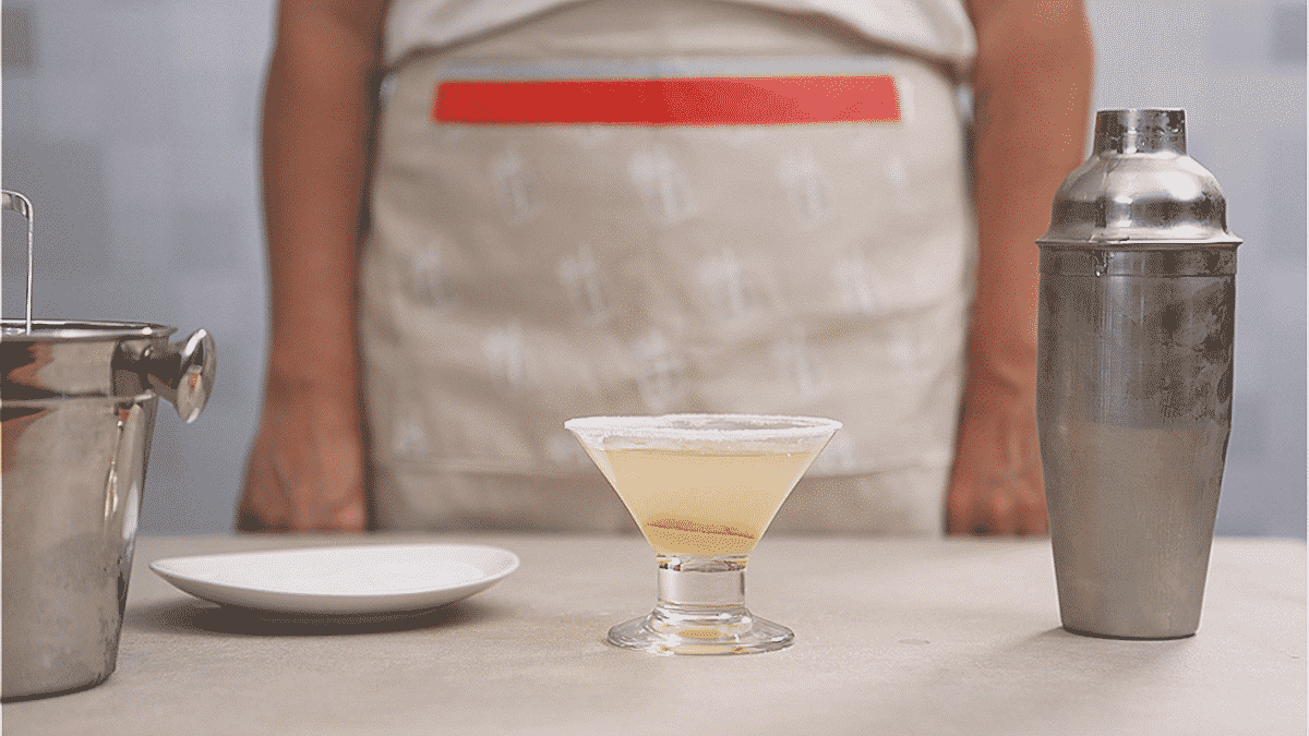 Margarita refrescante e deliciosa